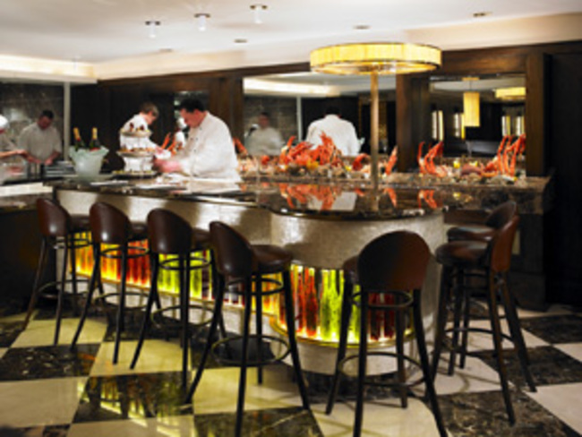 Saddle Room Restaurant Shelbourne Hotel. Casual dining in Dublin City