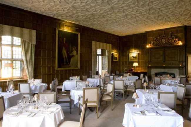 Waterford castle munster room restaurant in waterford