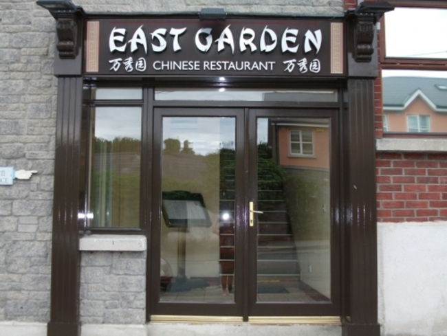 East garden chinese restaurant takeaway 1654