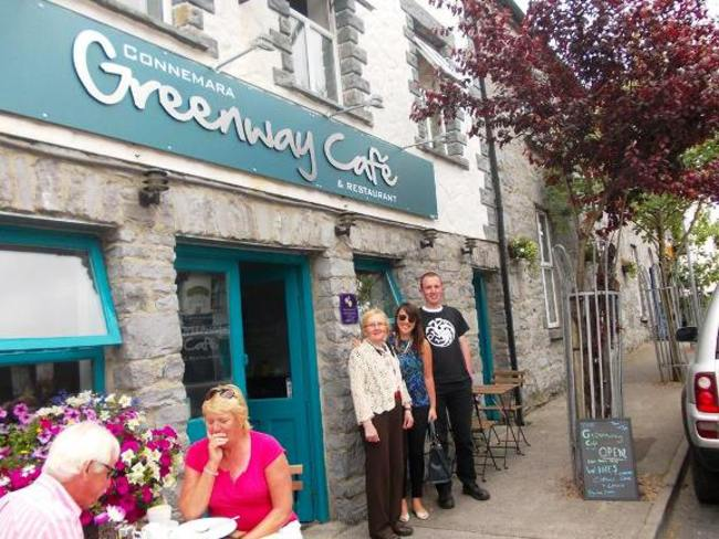 Connemara greenway cafe