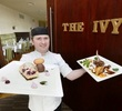 John nagle outside ivy with food