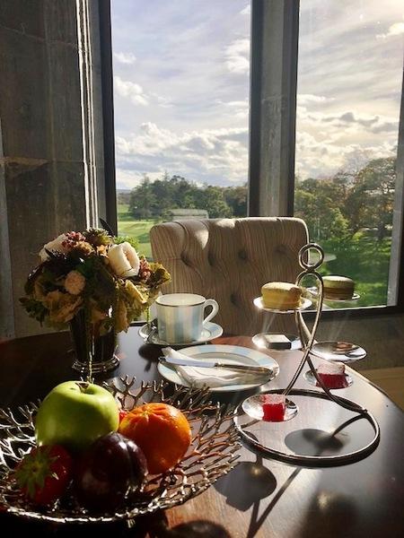 Adare Manor Oak Room Restaurant Hotel Afternoon Tea